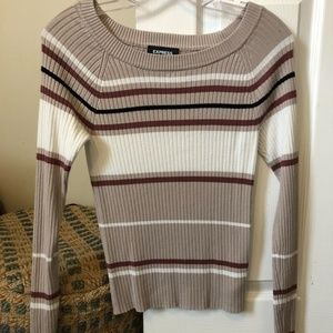 Striped Express Sweater